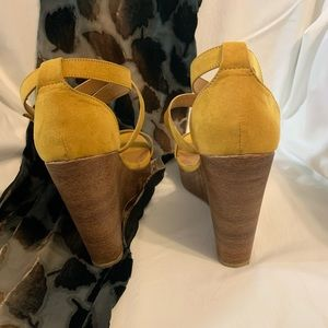Charlotte Russe Shoes - Charlotte Russe open toe wedges size 9